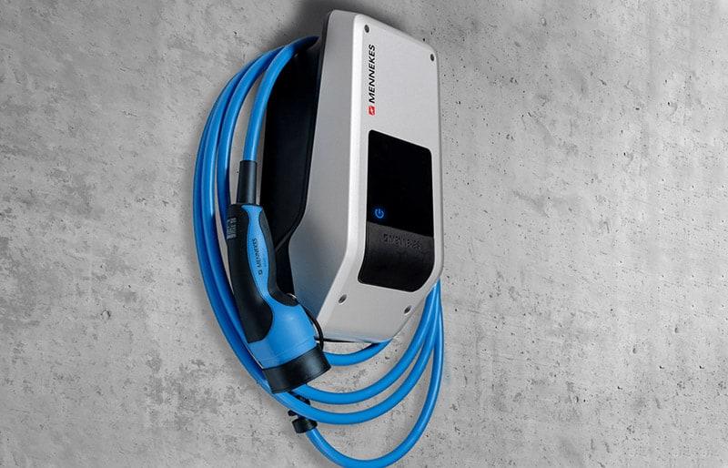Ladesäule Elektromobil, E-Auto, Elektroauto, Wallbox